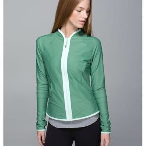 Lululemon Find Your Bliss Jacket Vintage Green
